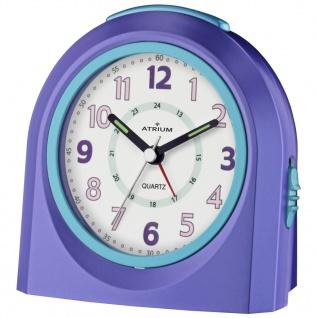 ATRIUM A921-8 Wecker Alarm Analog lila blau - Vorschau 1