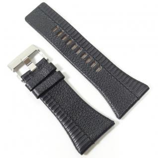Diesel Uhrband LB-DZ4185 Original DZ 4185 Lederband 37 mm