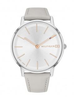 Tommy Hilfiger 1781937 PIPPA Uhr Damenuhr Lederarmband Grau
