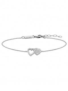 Julie Julsen JJBR0265.1 Damen Armband Herz Sterling-Silber 925 19 cm