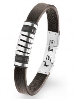 s.Oliver 2022622 Herren Armband Edelstahl Silber 21, 5 cm
