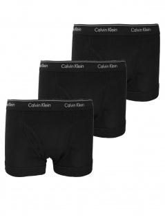 Calvin Klein Herren Boxershort 3er Pack Trunk S Schwarz NB1893A-001