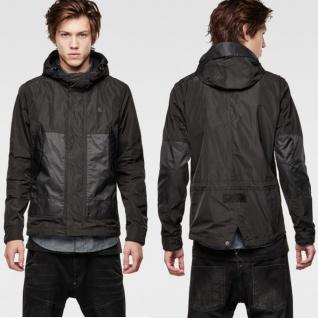 G-Star Herren Jacke 82101E4077-990 Rovic Hooded Jacket Schwarz Gr. L