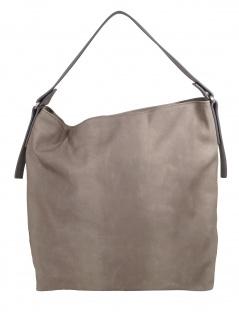 Esprit Damen Handtasche Tasche Henkeltasche Tasha hobo Grau