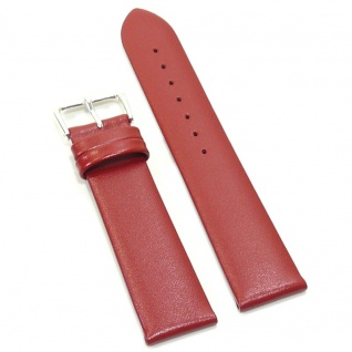 Condor Uhrenband 19241-20-60 Ersatzarmband 20 mm Rindnappa rot