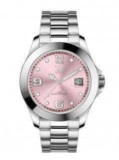 Ice-Watch 016892 ICE steel classic SR Medium Uhr Damenuhr Datum Silber