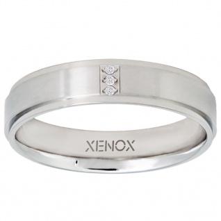 XENOX X2265-58 Damen Ring XENOX & friends Silber Weiß 58 (18.5)