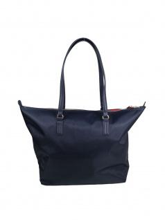 Tommy Hilfiger Damen Handtasche Tasche Shopper POPPY Tote Blau - Vorschau 3