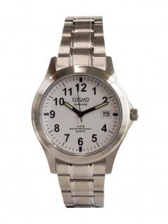 Cosmo 33004-RMB-1 Uhr Herrenuhr Edelstahl Datum silber