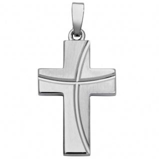 Basic Silber SKE27 Damen Anhänger Kreuz Silber