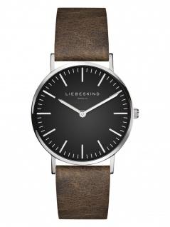 LIEBESKIND LT-0093-LQ Uhr Damenuhr Lederarmband Braun