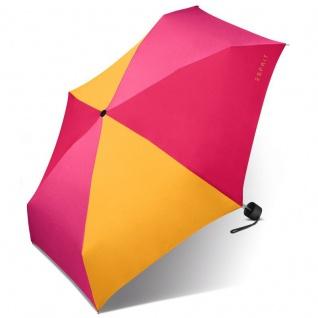 Esprit 51957 Petito hot pink canary Taschenschirm