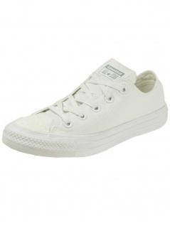 Converse Damen Schuhe CT All Star Ox Weiß Leinen Sneakers Gr. 37 - Vorschau 2