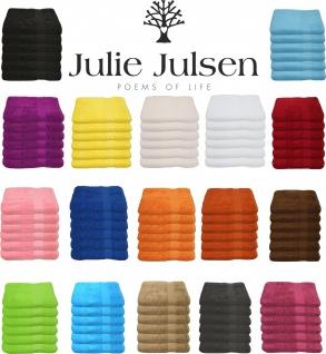 6 er Set Julie Julsen® Handtuch 50 cm x 100 cm