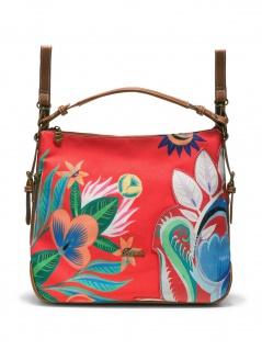 Desigual Damen Handtasche Tasche Henkeltasche LIANA PISA Rot