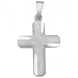 Basic Silber SKE29 Kinderschmuck Anhänger Kinder Kreuz Silber