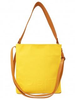Esprit Damen Handtasche Tasche Drew Hobo shoulderbag Gelb 050EA1O309