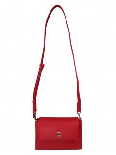 Tommy Hilfiger Damen Handtasche Tasche TH Modern Crossover Rot