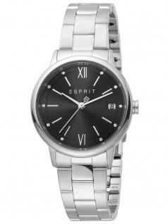 Esprit ES1L181M0085 Kaya Ladies Silver Black Uhr Damenuhr Datum silber