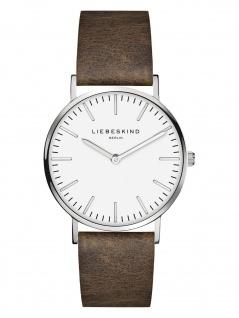 LIEBESKIND LT-0086-LQ Uhr Damenuhr Lederarmband Braun