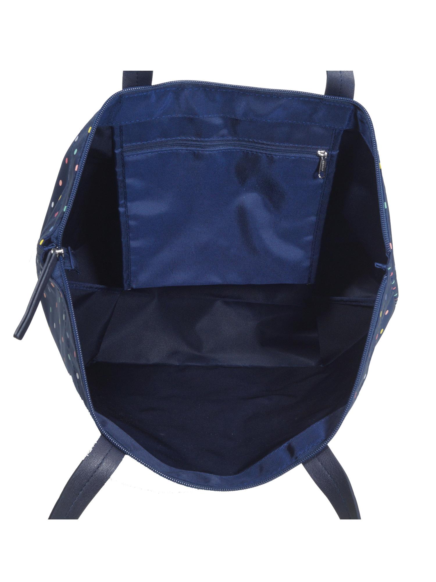 1f5e504d5fba2 ... Esprit Handtasche Tasche Shopper Cleo printed Blau 019EA1O022-401 2