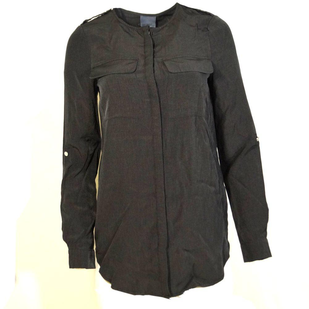 Vero Moda Damenbluse Bluse Langarm COBRA LS Shirt Schwarz Gr. XS 1 ... bb4cc893ce