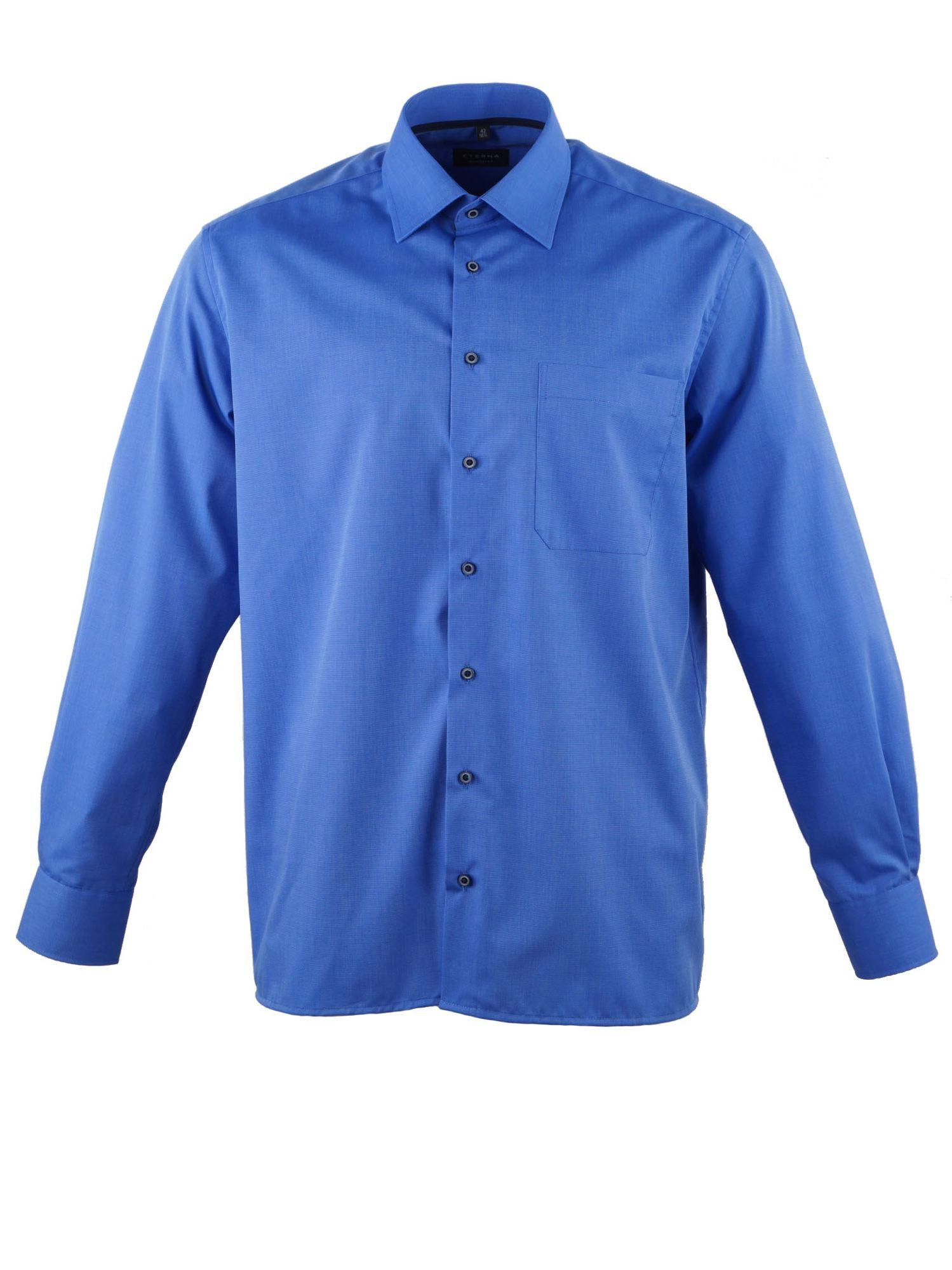 blaue Hemden von ETERNA in Größe 43 | versandkostenfrei