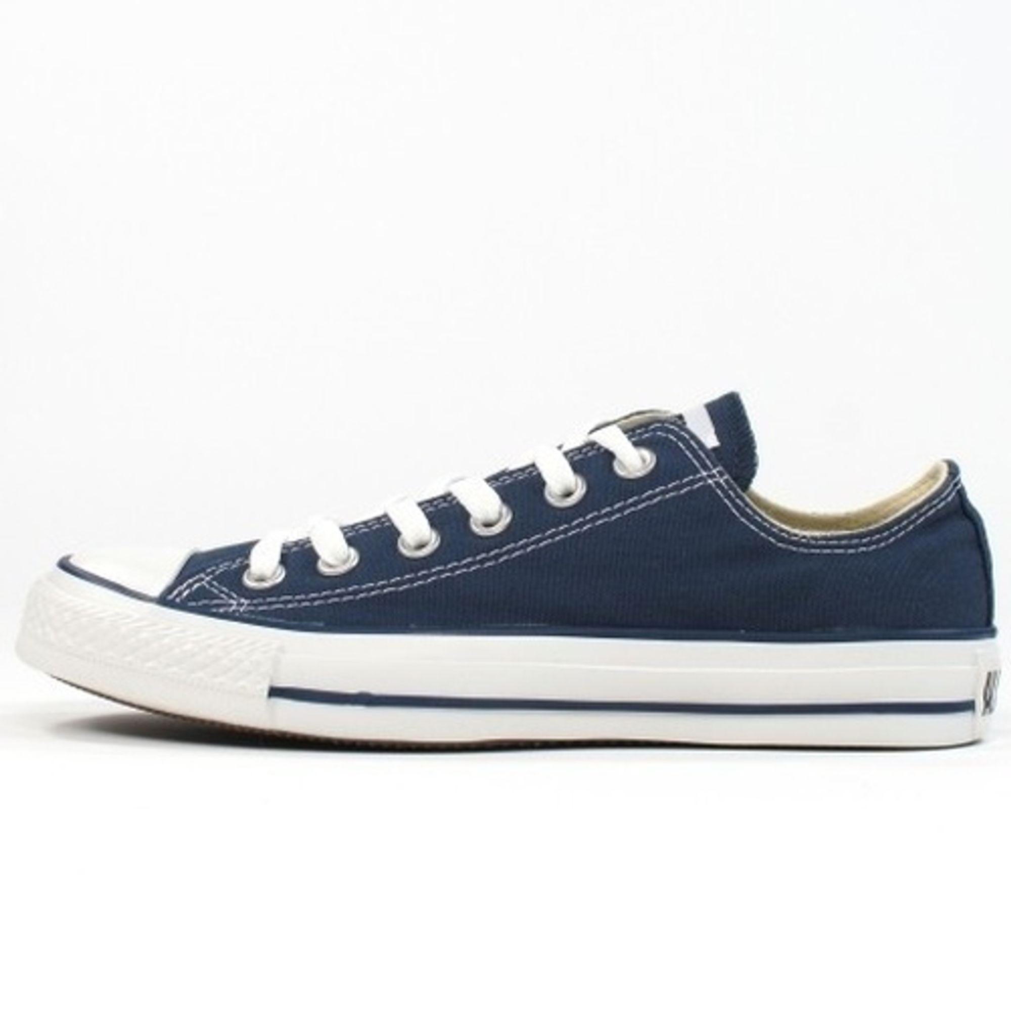 Converse Herren Schuhe All Star Ox Blau M9697C Turnschuhe Blau Gr. 44 Navy