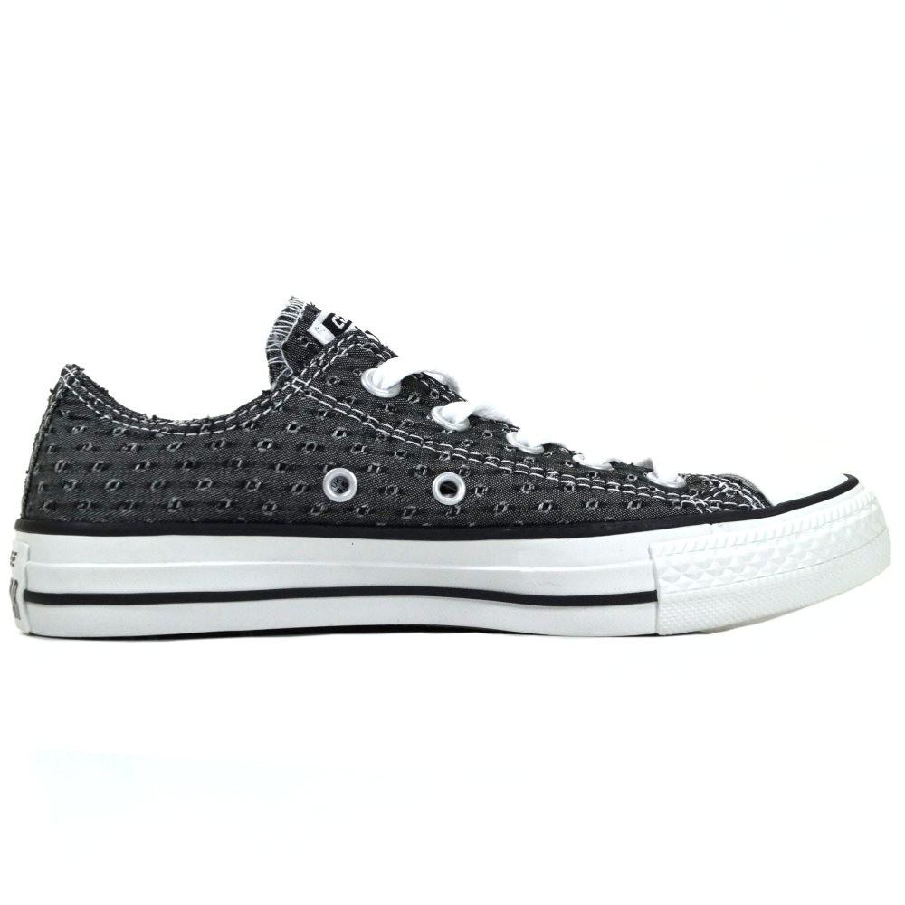 db147b9e48d632 Converse Damen Schuhe CT Ox Grau-Schwarz Sneakers Größe 36 - Kaufen ...