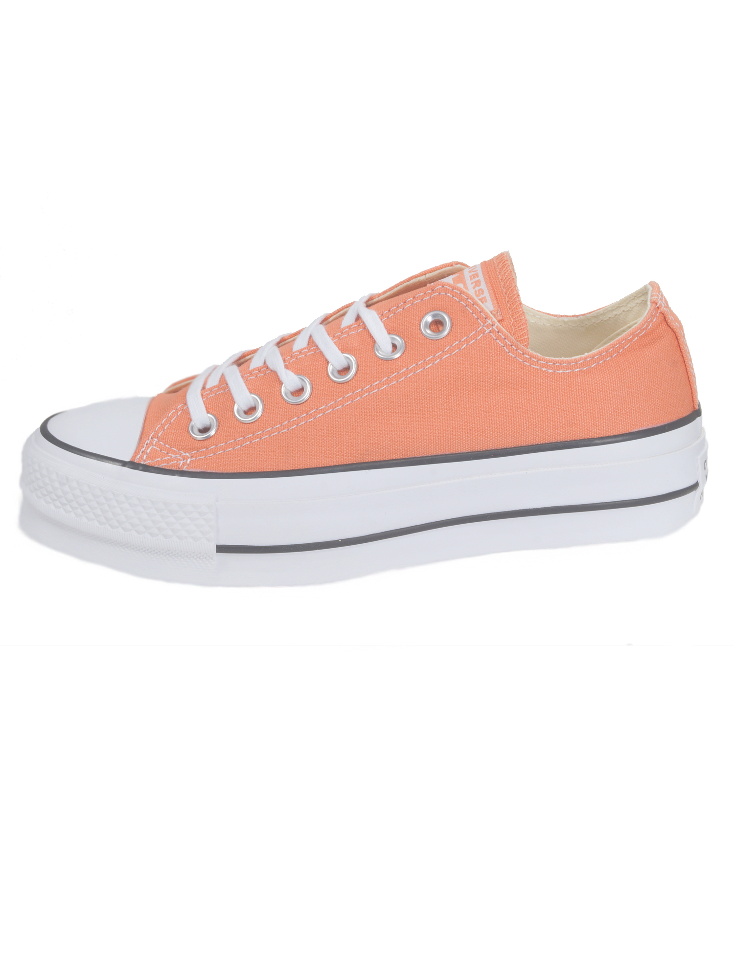 Converse Damen Schuhe CT All Star Lift Ox Orange Leinen Sneakers 39, 5