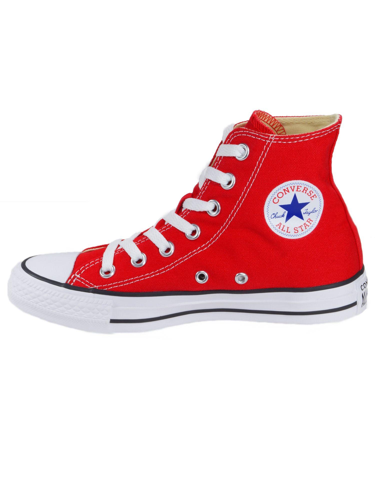 Converse Damen Schuhe CT All Star Hi Rot Leinen Sneakers Gr. 38 - yatego.com