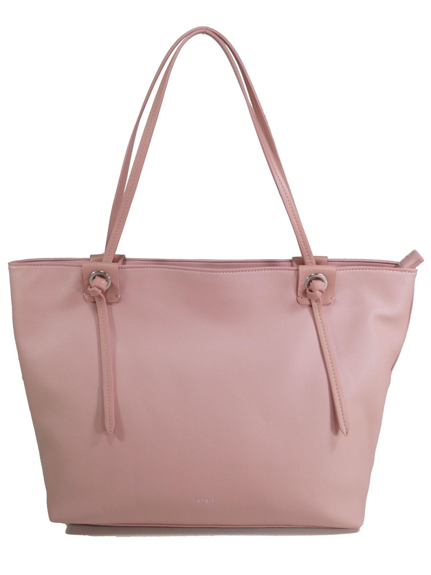796aaa8804310 Esprit Damen Handtasche Tasche Henkeltasche Coco Shopper Rosa ...
