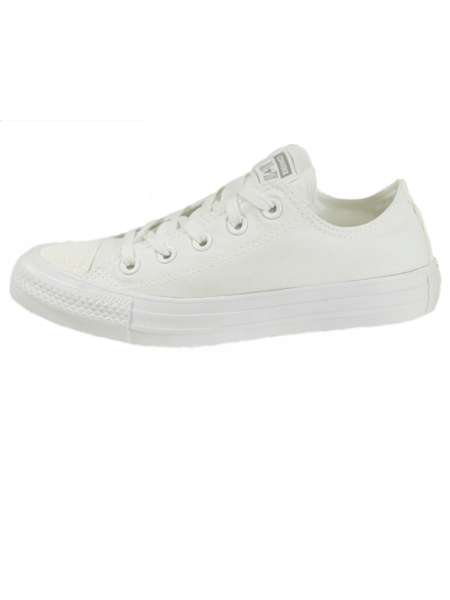 Converse Damen Schuhe CT All Star Ox Weiß Leinen Sneakers Gr. 36, 5