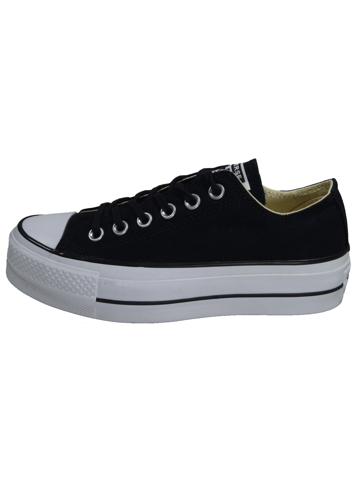 Converse Damen Schuhe CT All Star Lift Ox Schwarz Leinen Sneakers 39
