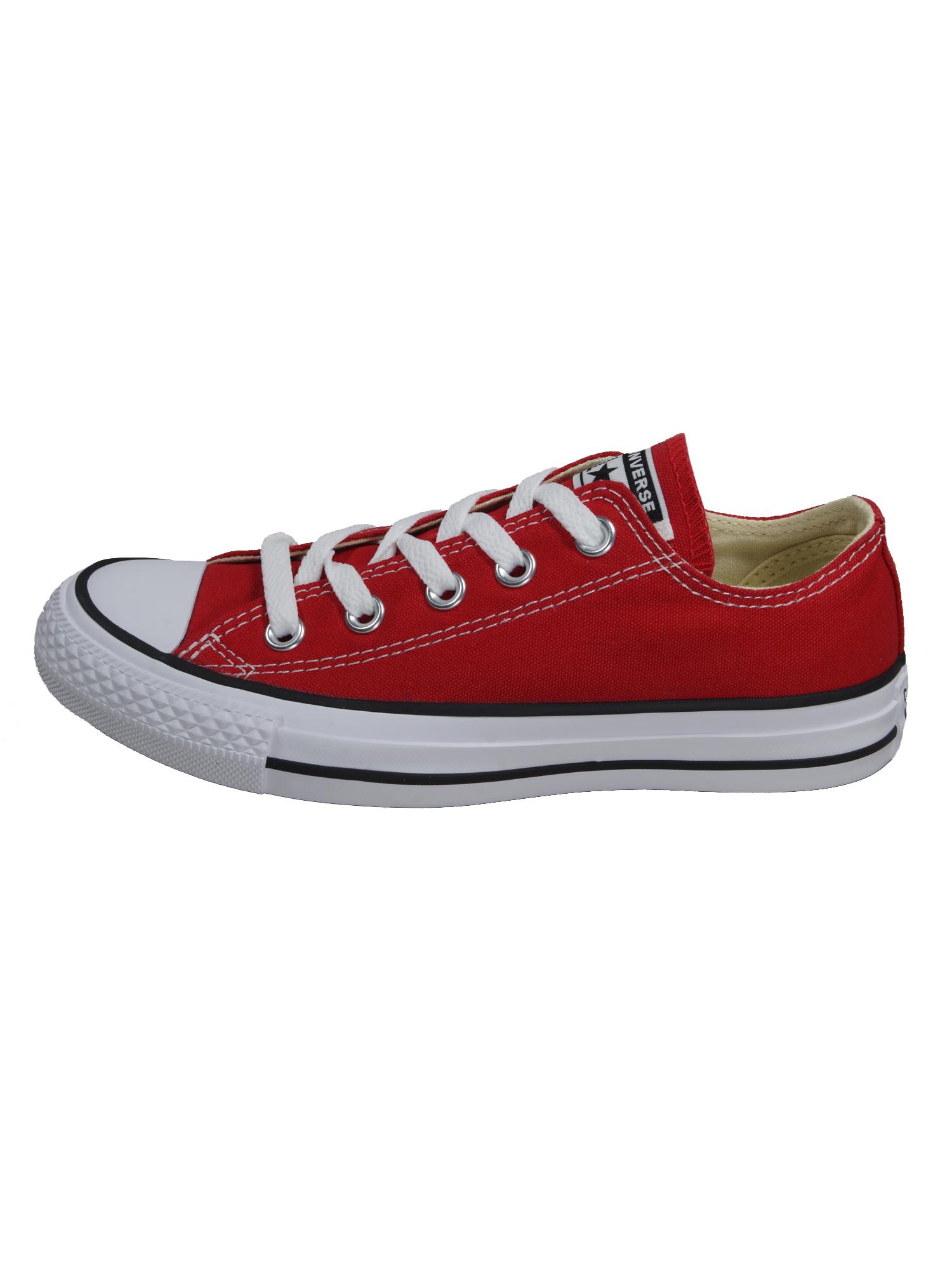 Converse Damen Schuhe CT All Star Ox Rot Leinen Sneakers Größe 36, 5