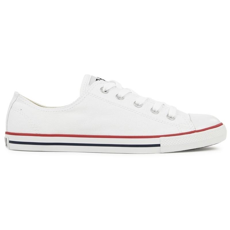 Converse CT Damen Schuhe CT Converse Dainty Ox Weiß 537204C Turnschuhe Chucks 40, 5 Weiß 6709e8