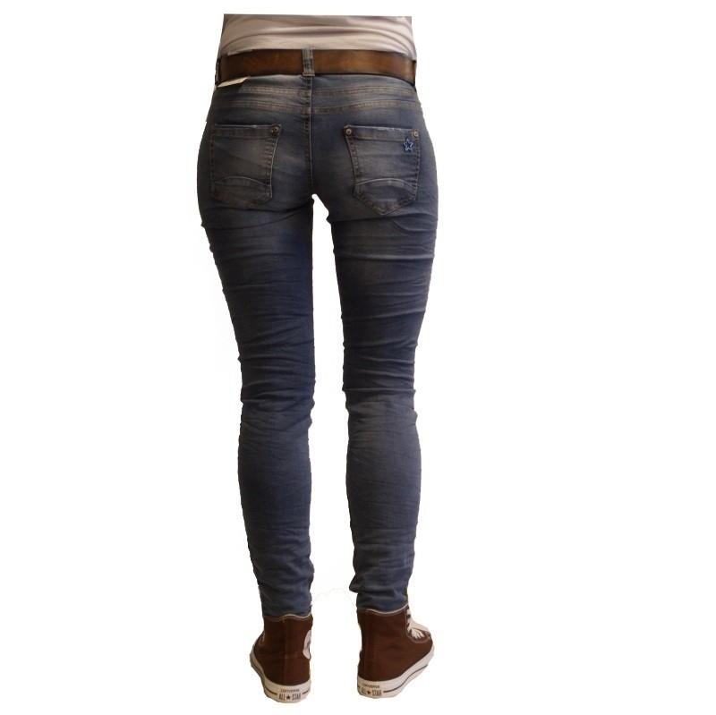 Damen 5-Pocket Jeans in dunkelblau Kate Regular Fit Pioneer 3213 6129 161