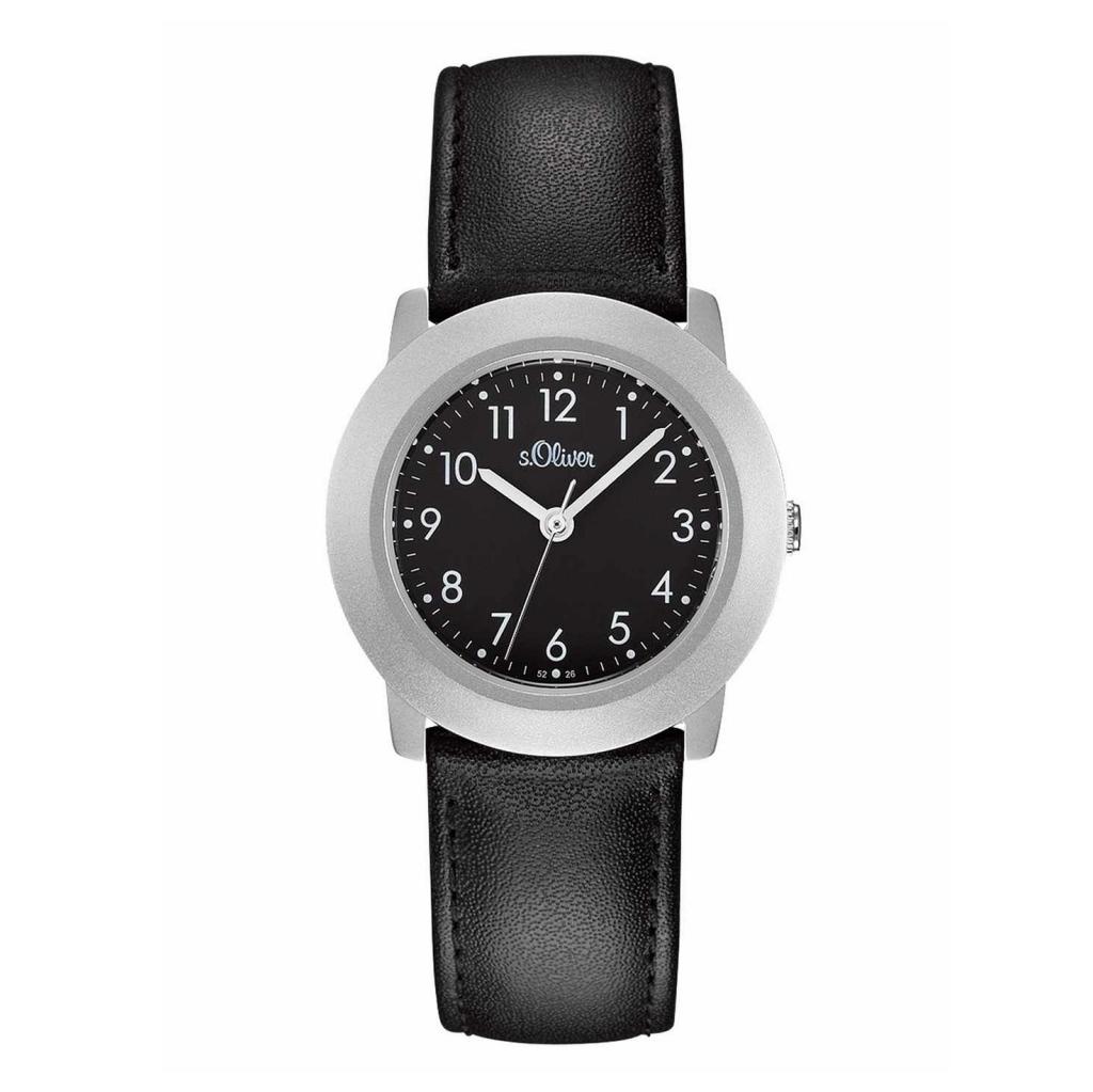 oliver So S Lederarmband Uhr Schwarz Lq Damenuhr 522 CoWQrBedx