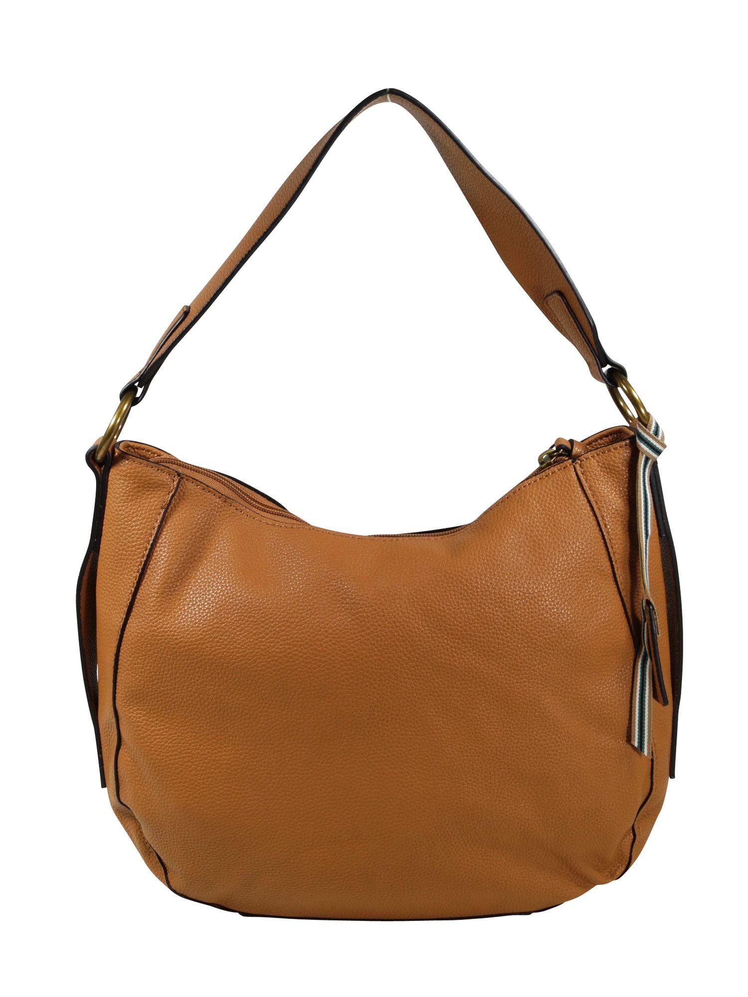 weltweit bekannt bis zu 60% sparen Herbst Schuhe Esprit Damen Handtasche Tasche Henkeltasche Kiki Hobo Bag Braun