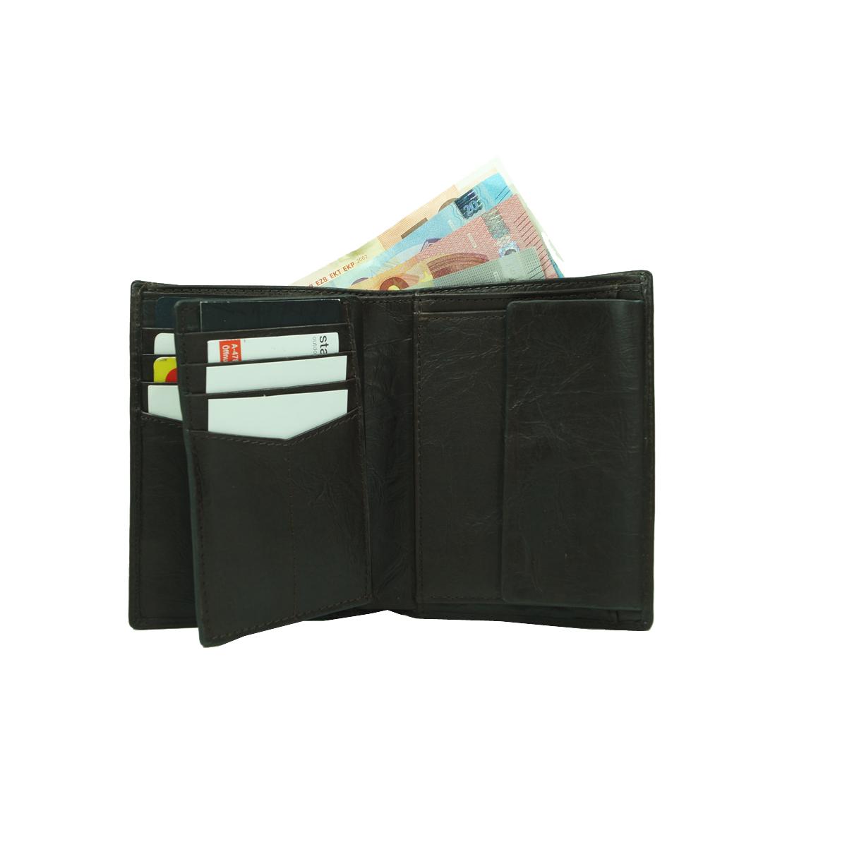 24dd7c3ab920e ... Fossil Geldbörse Neel Int Schwarz Herren Portemonnaie Börse Geldbeutel  3 ...