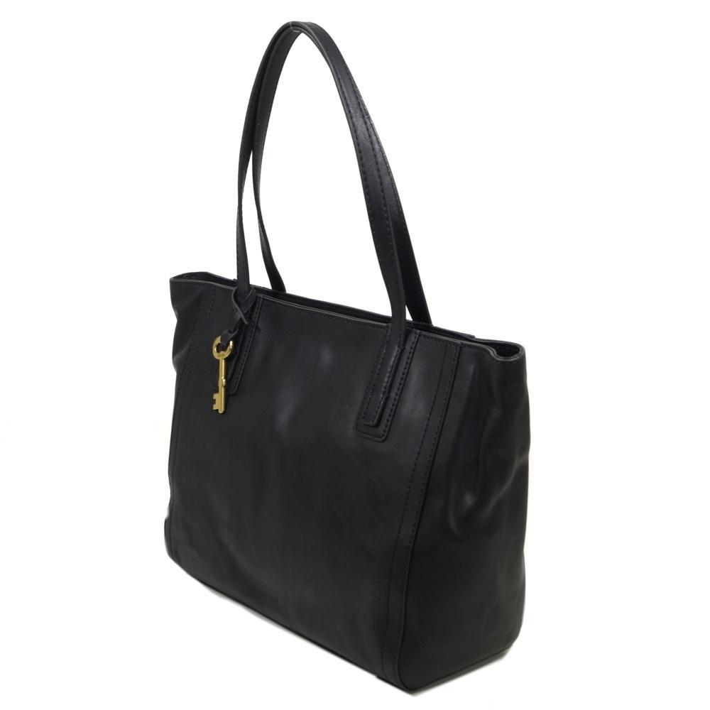 fossil emma tote schwarz zb6844 001 handtasche tasche. Black Bedroom Furniture Sets. Home Design Ideas
