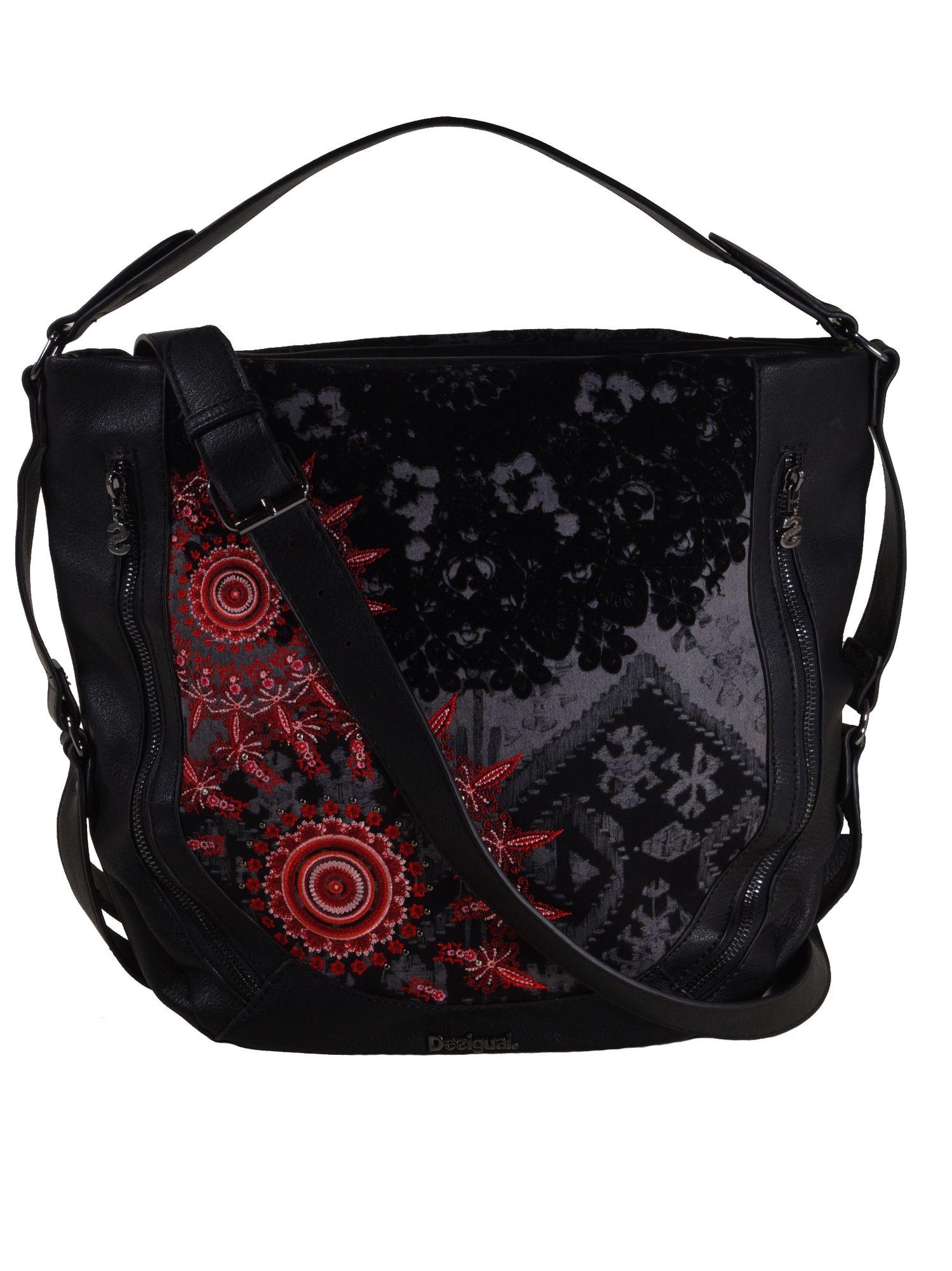 28506b0dd83b8 Desigual Handtasche Tasche Henkeltasche RED QUEEN MARTETA Schwarz 1 ...