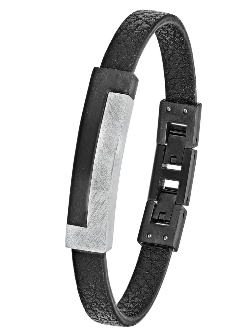 Turnschuhe neueste Kollektion bis zu 80% sparen s.Oliver 2024241 Herren Armband Edelstahl Silber 21, 5 cm