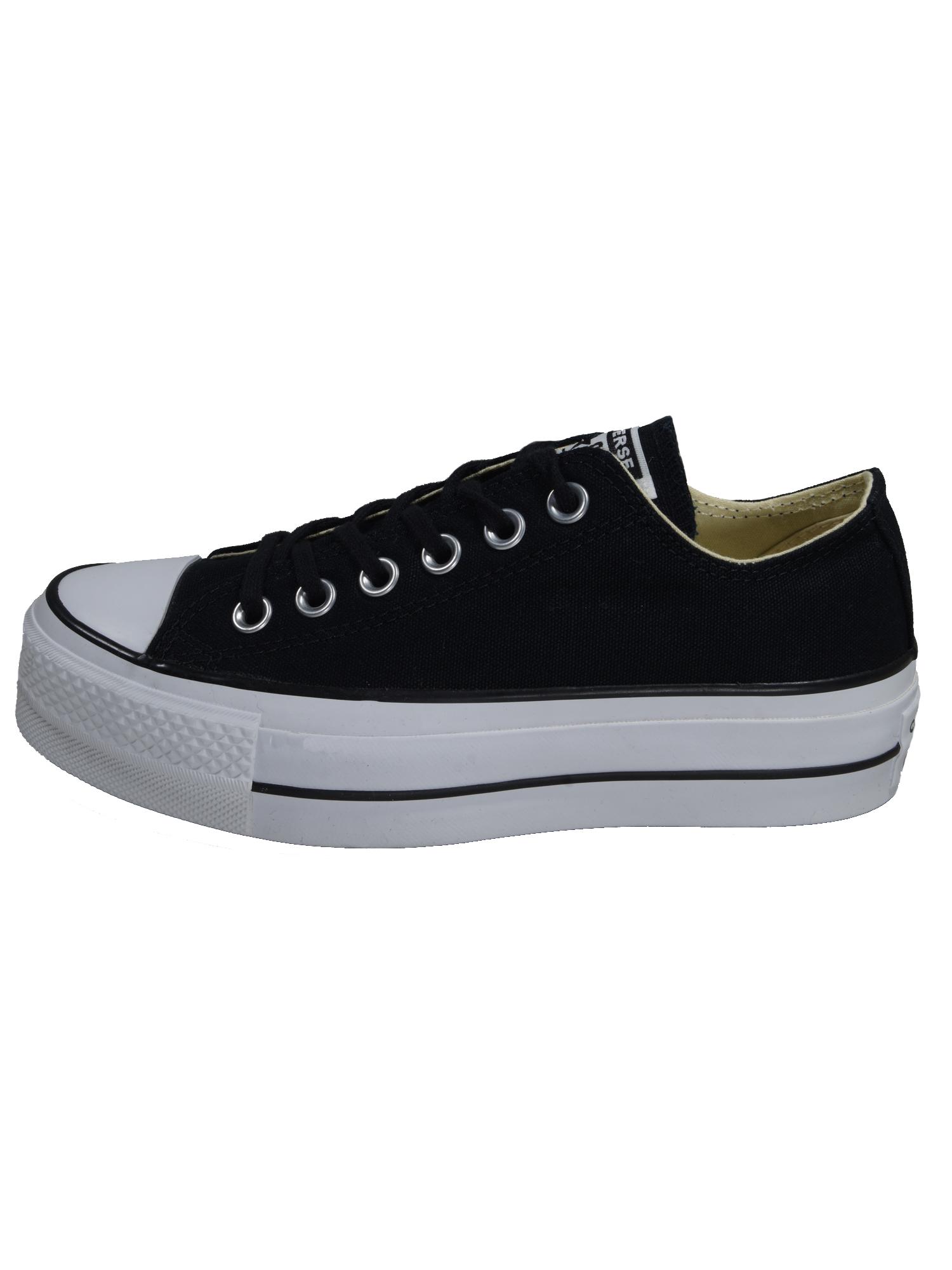 Converse Damen Schuhe CT All Star Lift Ox Schwarz Leinen Sneakers 40