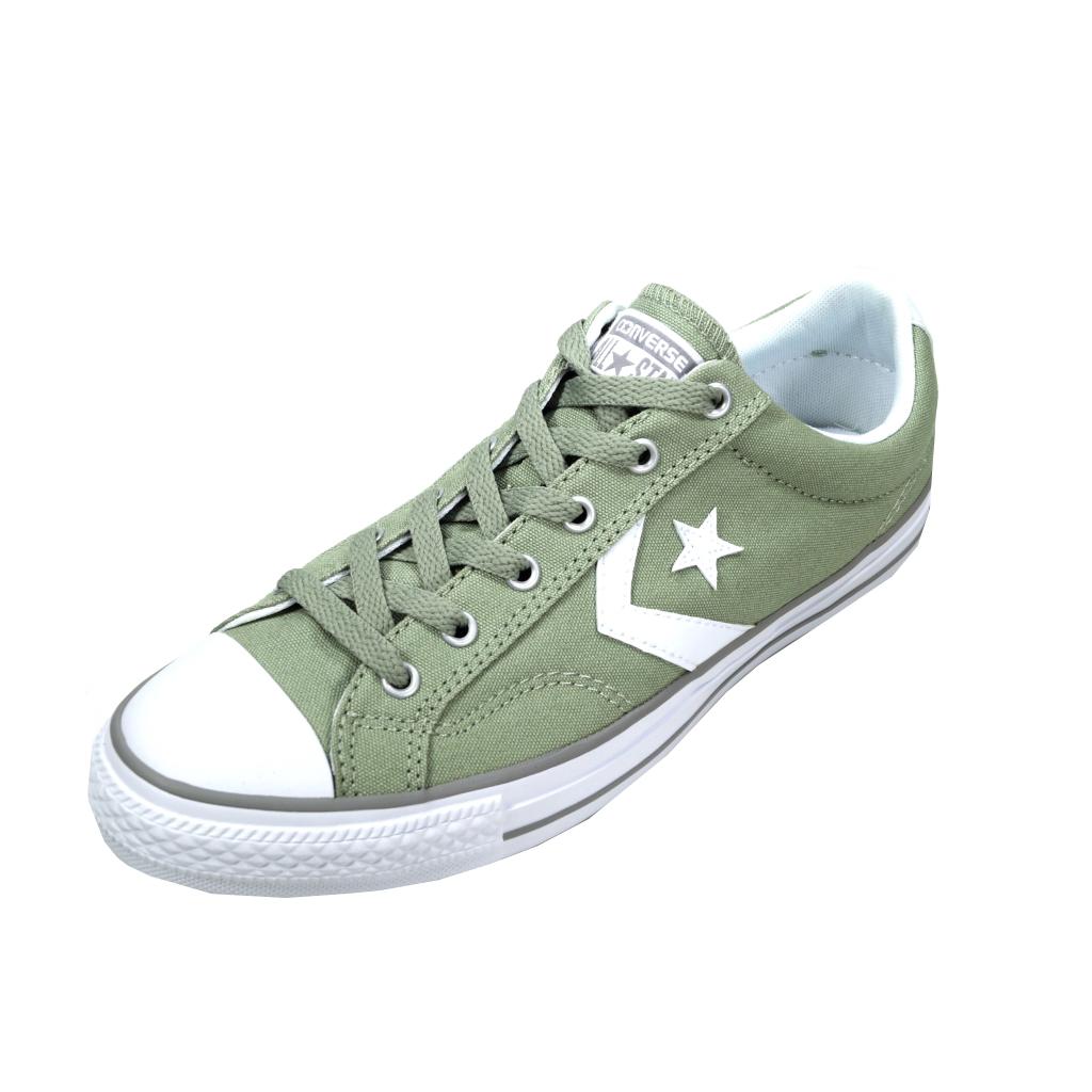 433dd2ac371bc1 Converse Herren Schuhe Star Player Ox Grün 156619C Sneakers 44