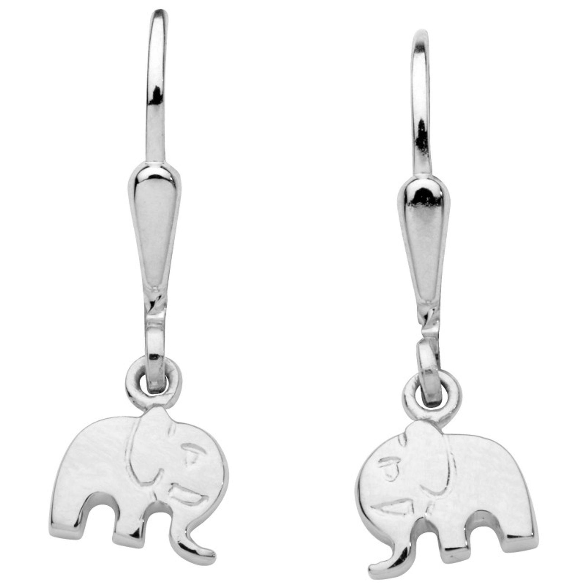 5f3ea2d554ca Basic Silber SK34 Kinder Ohrringe Elefant Silber Kinderschmuck 1 ...
