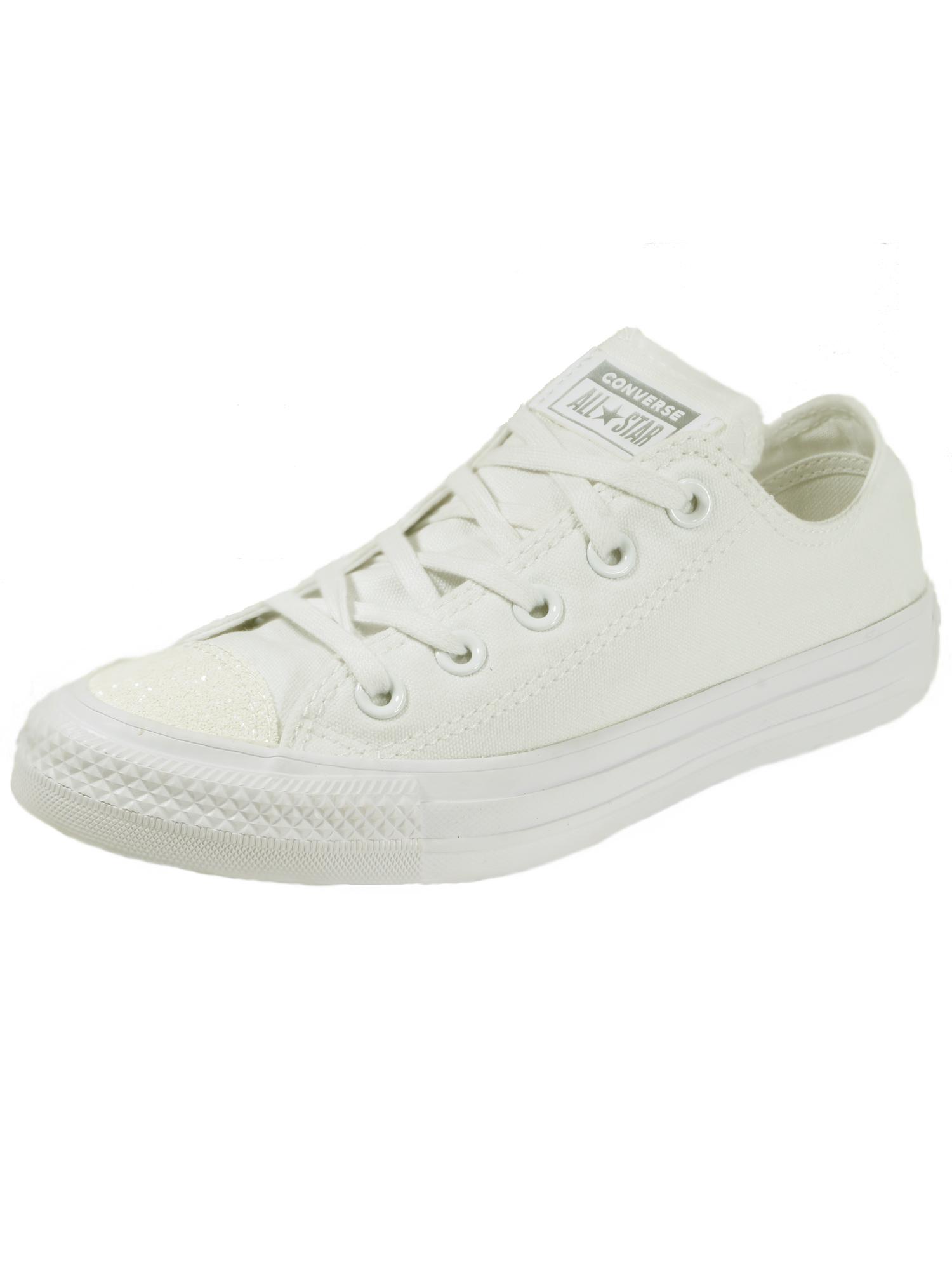 Converse Damen Schuhe CT All Star Ox Weiß Leinen Sneakers Gr. 37