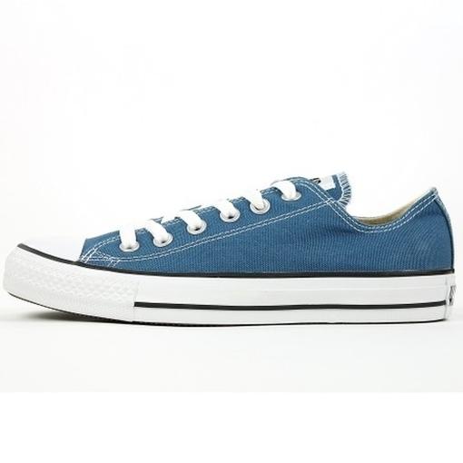 Converse Damen Schuhe All Star Ox Blau 136816C Chucks Turnschuhe Gr 36, 5 Petrolblau