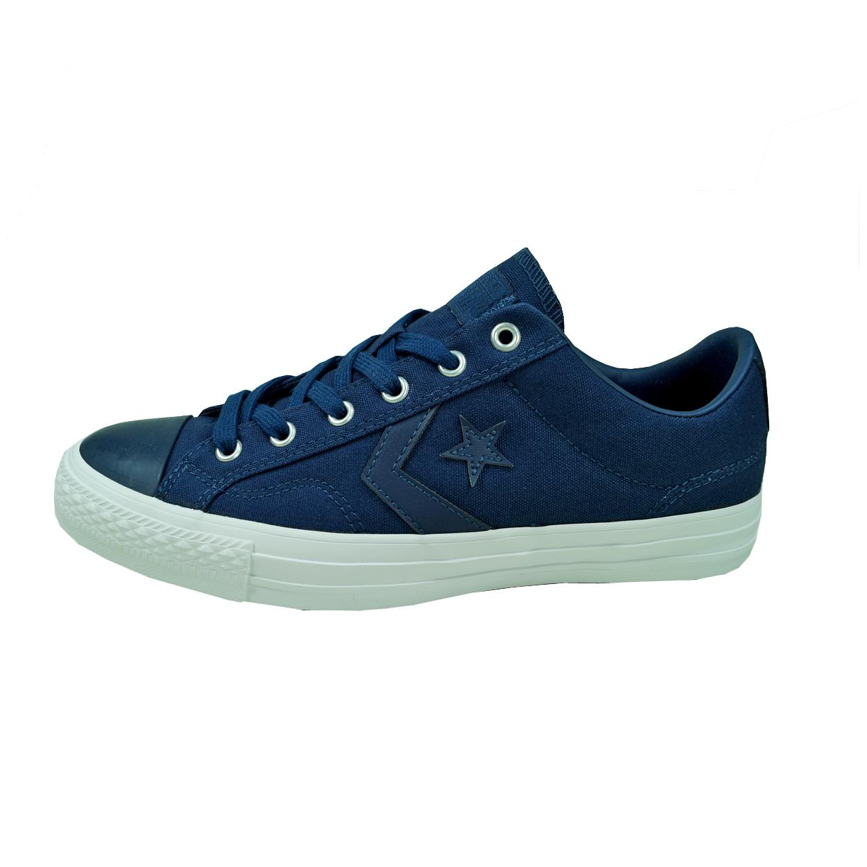 2fb633e5289a6d Converse Herren Schuhe Star Player OX Blau 44