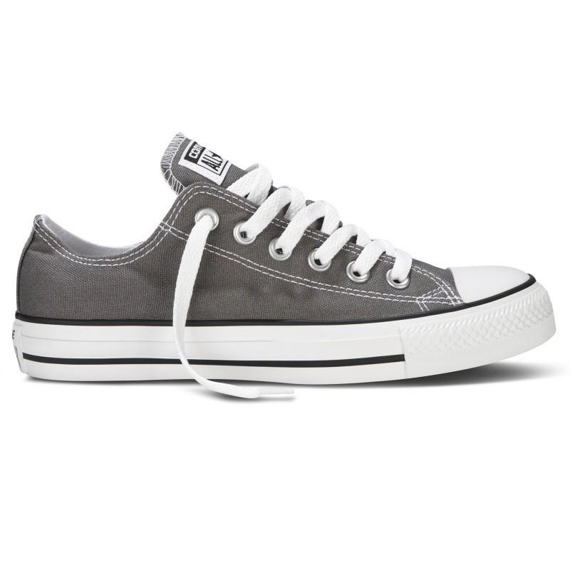 Converse Damen Schuhe All Star Ox Grau 1J794C Turnschuhe Chucks Gr. 38 Dunkelgrau